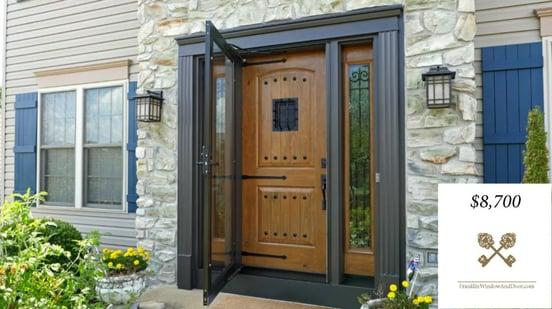 fiberglass door cost